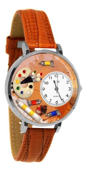 Artista Reloj De Plata (grande)