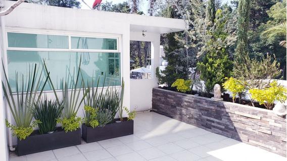 Se Renta Depa En San Angel Con Roof Garden Privado
