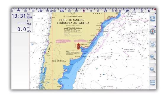 Mapa Nautico Rio De La Plata P/ Celular Tablet Android