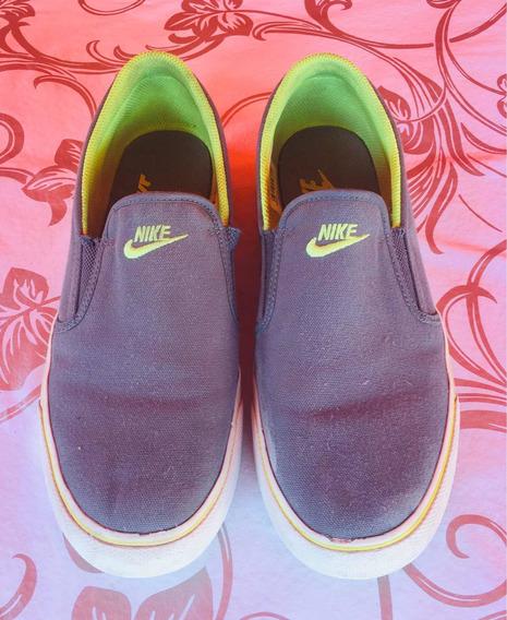 Zapatillas Panchas Nike Talle 25.5 Cm. Muy Buen Estado