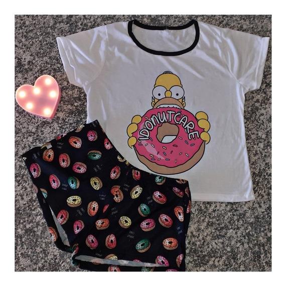 Curva Pijamas Mangas Cortas Talles 1/2/3 (12 Unidades)