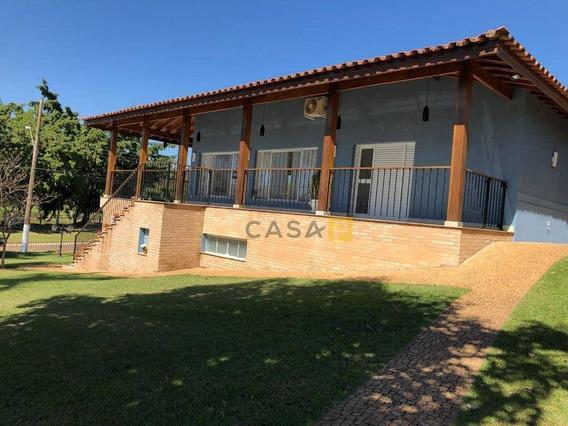 Casa Com 4 Dormitórios À Venda, 600 M² Por R$ 2.500.000,00 - Parque Residencial Tancredi - Americana/sp - Ca0266