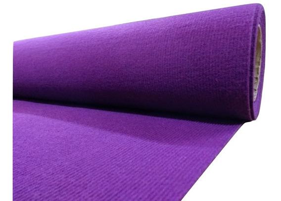 Alfombra Boucle Punzonada Tapizmel Por Rollo 100 M2 Violeta