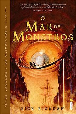 Livro Mar De Monstros