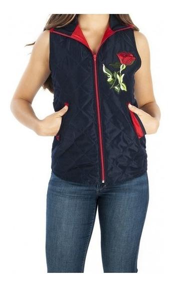 Chaleco Dress M-16502 Marino Para Dama