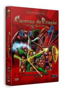 Dvd Caverna Do Dragão Série Remasterizada Completa, 27 Ep