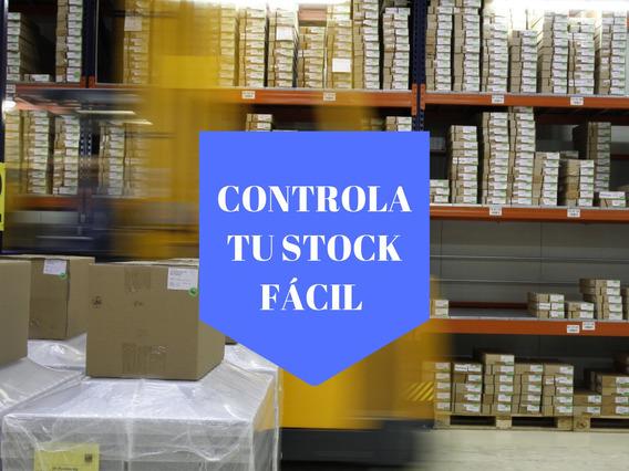Software Nacional. Control De Stock Fácil (excel A Medida)