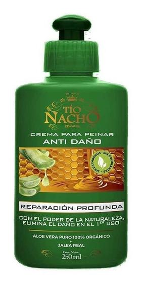 Tío Nacho Crema Para Peinar Anti-daño Reparación Profunda 20