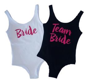 Body De Noiva Team Bride Suplex Para Despedida De Solteira