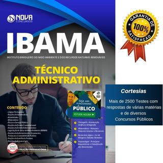 Nova Apostila Ibama - Técnico Administrativo