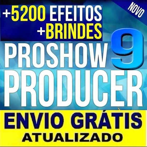 Proshow Producer 9.0 + Stylepacks Originais + Bonus Photodex