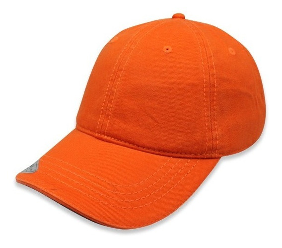 Paquete 24 Gorras Sc Copa Baja Algodon Naranja Unitalla