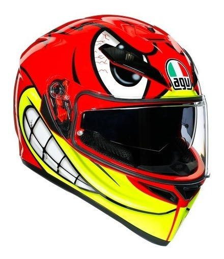 Capacete Agv K3 Sv Birdy + Pinlock Angry Birds