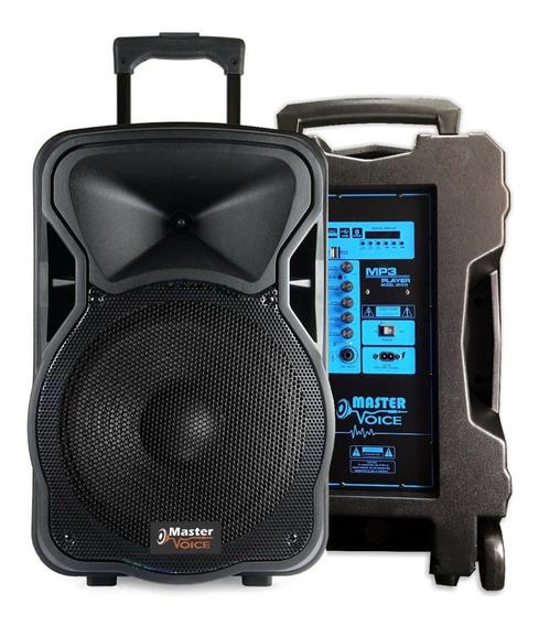Caixa de som Master Voice MV315 portátil sem fio 110V/220V