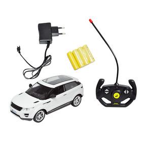 Carrinho Controle Land Rover Bateria Recarregável Modelo Suv