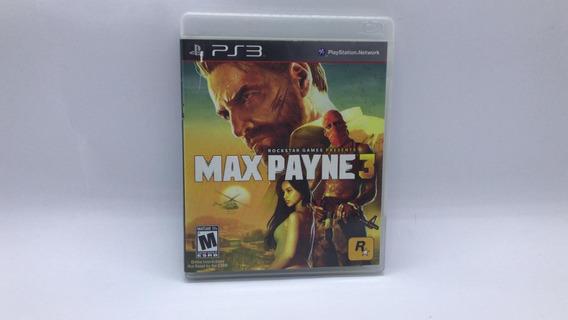 Max Payne 3 - Ps3 - Midia Fisica Em Cd Original