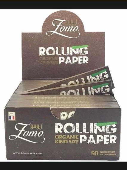 Promoção Relâmpago Caixa De Seda Zomo Smoking Brown Marrom