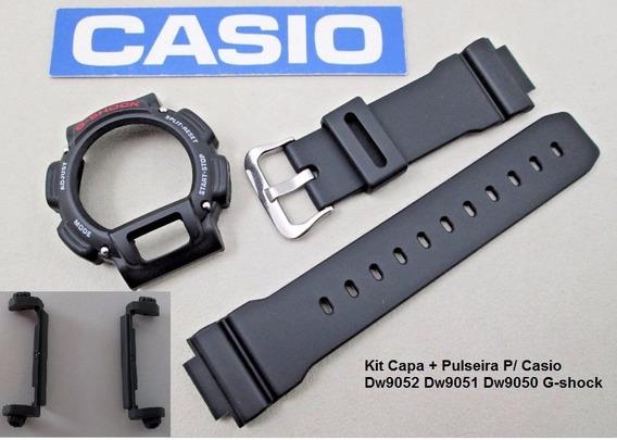 Kit Capa Pulseira Protetor Casio Dw9052 Dw9051 Dw9050 G-shoc