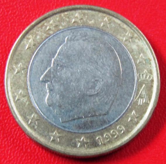Belgica Moneda Bimetalica 1 Euro 1999 Xf+ Km #230