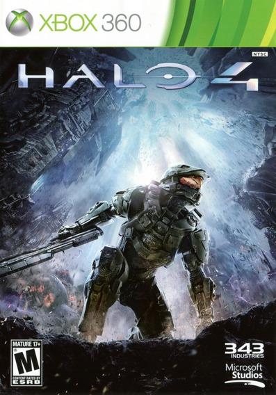 Jogo Halo 4 Xbox 360 Mídia Física Português Dublado Game
