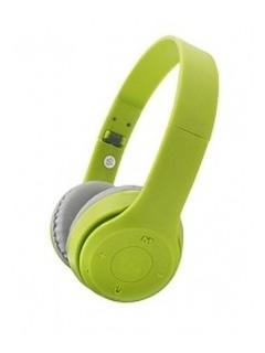 Netmak Auricular Vincha Plegable Bluetooth Verde Nm-p Cuotas