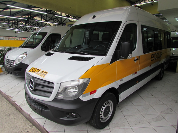 Mercedes Branca Sprinter Escolar 2019