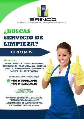Servicio De Limpieza - Aseo A Domicilio