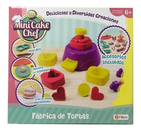 Juego De Comida Fabrica De Tortas Mini Cake Con Moldes