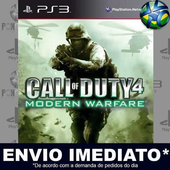 Call Of Duty 4 Modern Warfare Ps3 Psn Jogo Em Promoção
