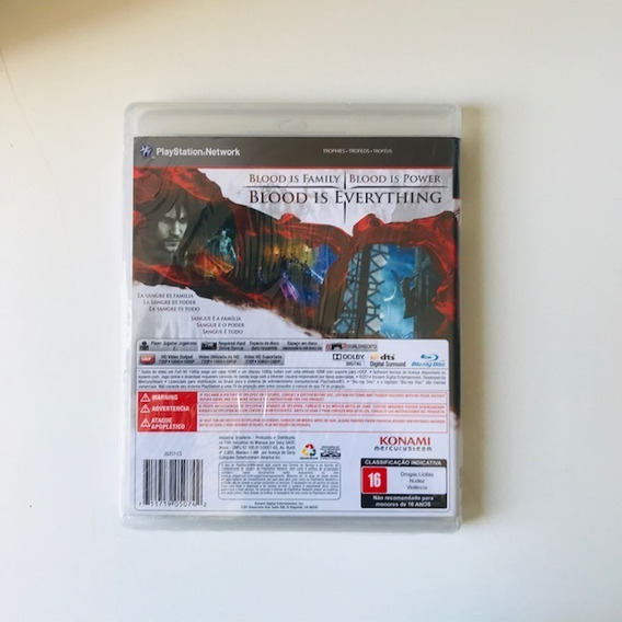 Castlevania Lords Of Shadow 2 - Ps3 - Midia Fisica