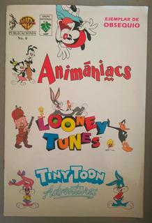 Comic Animaniacs #0 Editorial Vid México