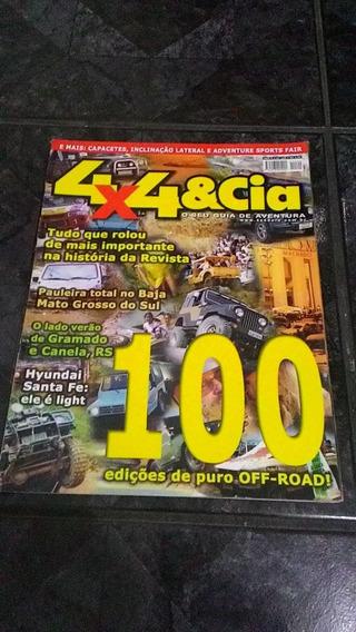4x4 & Cia Nov-2001 Nº 100 - F-100 Hilux Avibrás Santa Fe