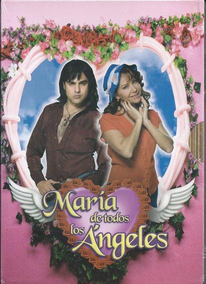 María De Todos Los Ángeles Temporada 1 Y 2 Dvd´s Nacionales
