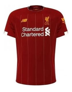 Camisa Oficial Liverpool Home 2020 Original - Promoção