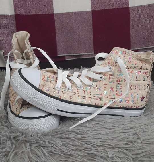 Zapatillas Botita Converse All Star Talle 37