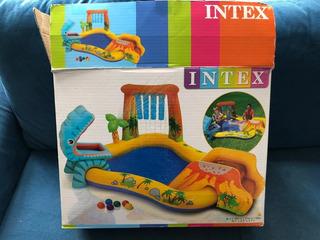 Centro De Juegos Acuático Inflable Intex Dinosaurios