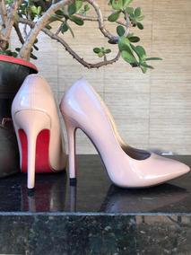 ee5ca47178 Sapato Scarpin Louboutin Preto C  Sola Vermelha Original. Usado - São Paulo  · Quase Louboutim!