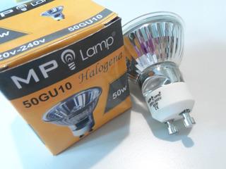 Lámpara Dicroica 50w Mp Lamp 220v Gu10 X 10 U