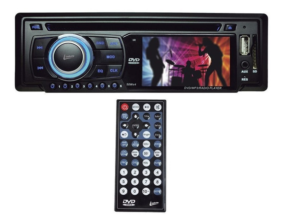Dvd Automotivo Leadership 3 Pol. Com Controle