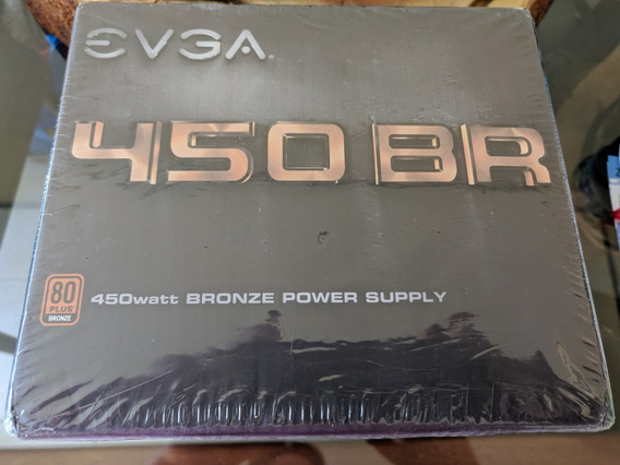 Fonte Evga 450w Real 80 Plus Bronze Atx Pc Pfc Ativo 450bt