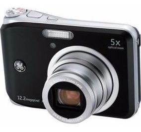 Câmera Digital Ge 12.2 Mpx Zoom Ótico 5x Pouco Usada