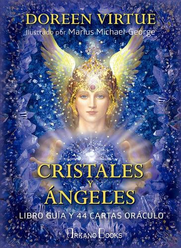 Cristales Y Angeles: Libro Y 44 Cartas Oraculo Doreen Virtue