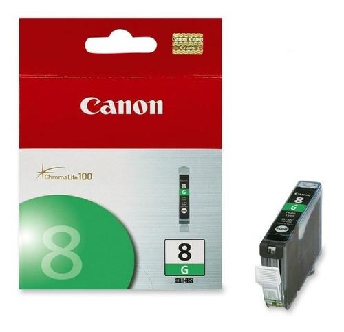 Cartucho Canon Cli-8 Verde, Compatible Con Pixma Ip4200, Ip5