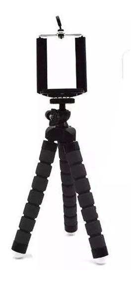 Tripé Flexível Articulado Suporte Celular Selfie Câmera