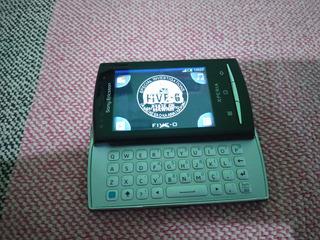 Celular Sony Xperia X10 Mini Pro Preto