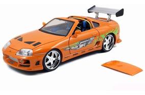 Toyota Supra 1995 Brian 1:18 Jada Toys Velozes Furiosos