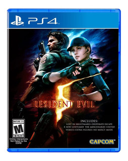 ! Resident Evil 5 Hd Para Playstation 4 Ps4 En Wholegames !