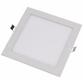 Plafon Painel Luminaria Led Embutir Quadrado 18w
