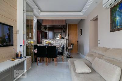 Apartamento No 9º Andar Com 3 Dormitórios E 2 Garagens - Id: 892920459 - 220459