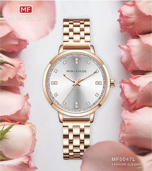 Mini Focus Moda Mulheres Quartz Relógios